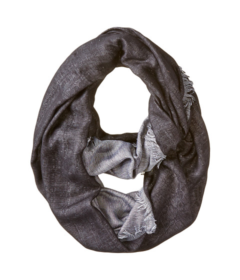 BCBGMAXAZRIA - Reversible Loop Scarf (Black) Scarves