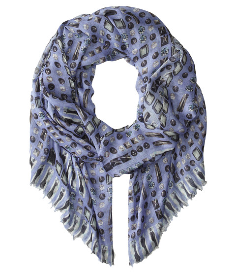 BCBGMAXAZRIA - High Shine Scarf (Purple Haze) Scarves