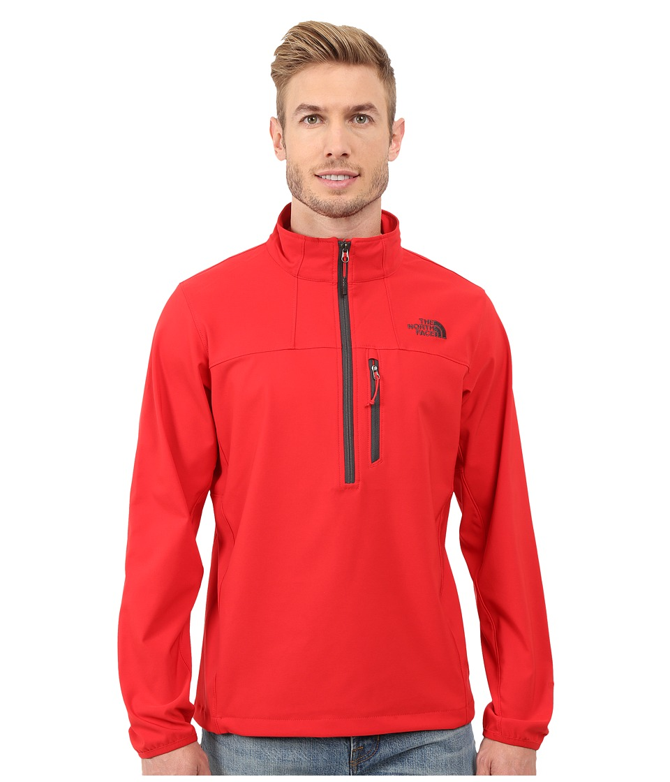 The North Face - Nimble 1/2 Zip Jacket (TNF Red) Men's Long Sleeve Pullover
