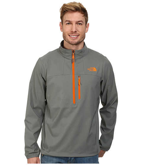 The North Face - Nimble 1/2 Zip Jacket (Sedona Sage Grey) Men