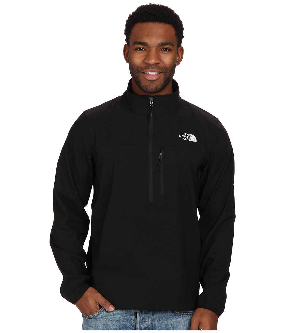 The North Face - Nimble 1/2 Zip Jacket (TNF Black) Men's Long Sleeve Pullover