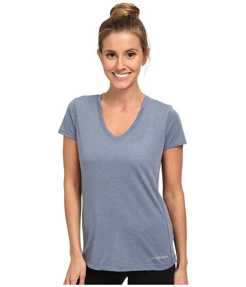 Brooks - Versatile S/S IV (Heather Storm) Women's Short Sleeve Pullover