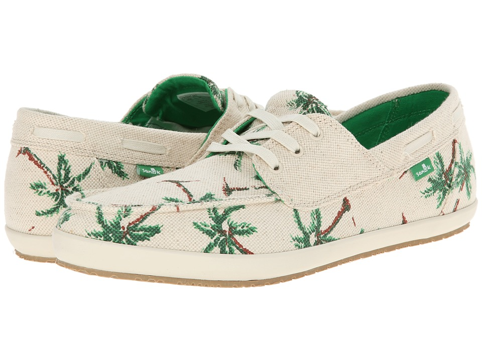Sanuk - Mortimer (Natural/Palms) Men