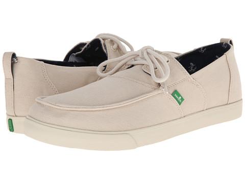 Sanuk - Offshore (Natural) Men's Slip on Shoes