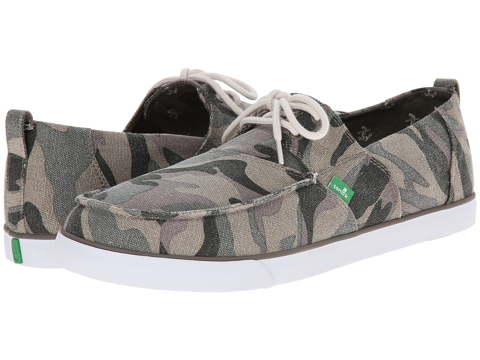 Sanuk - Offshore (Washed Camo) Men