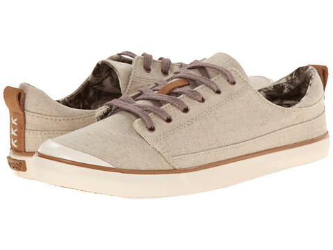 Reef - Walled Low (Natural) Women's Lace up casual Shoes