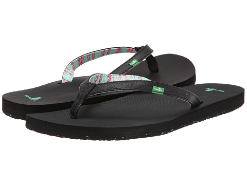 Sanuk - Maritime 2 (Black) Women's Sandals