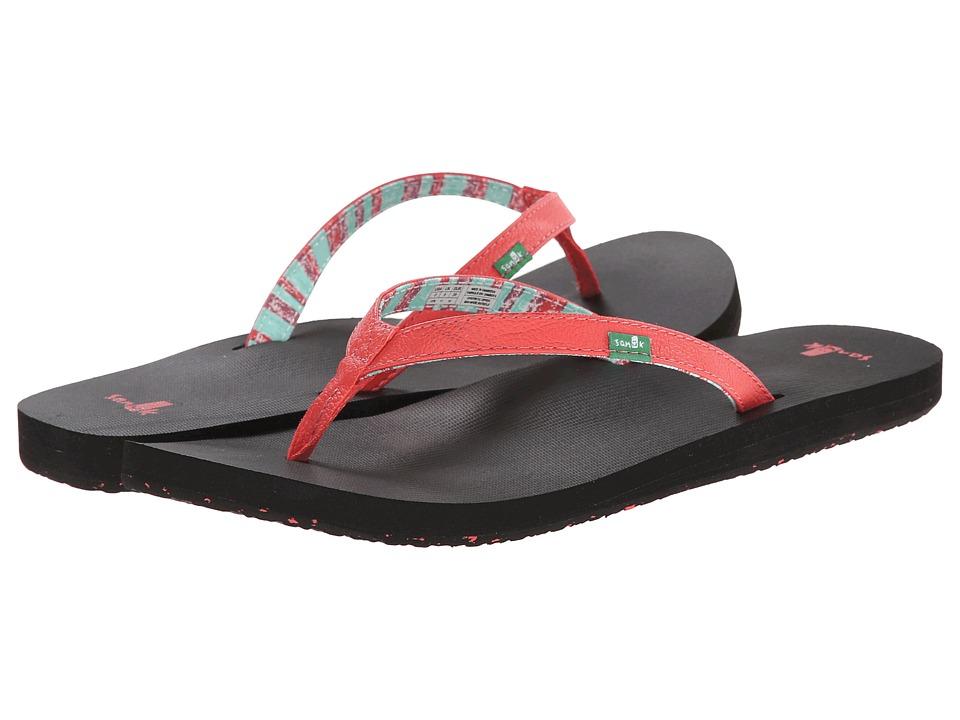 Sanuk - Maritime 2 (Watermelon) Women's Sandals