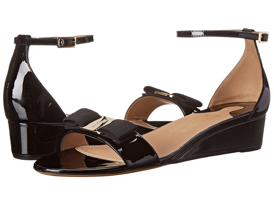 Salvatore Ferragamo - Margot (Nero) Women's Sandals