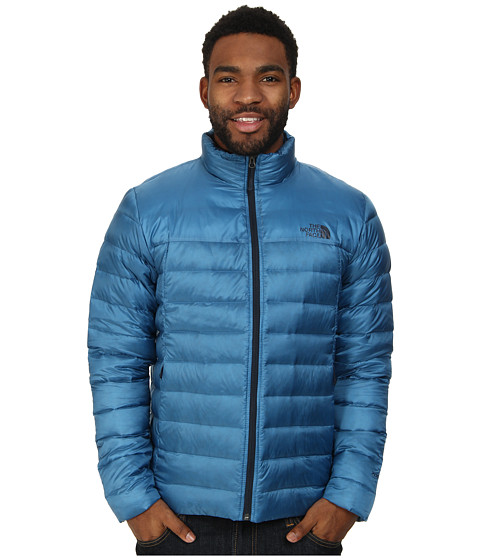 The North Face - Tonnerro Jacket (Heron Blue) Men's Coat