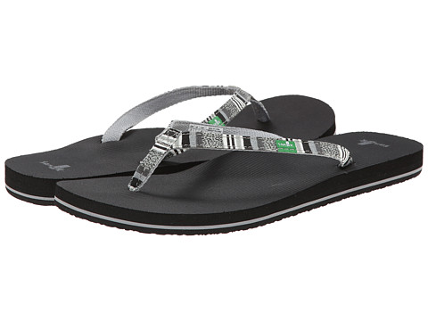 Sanuk - Maritime Funk (Black Multi) Women's Sandals
