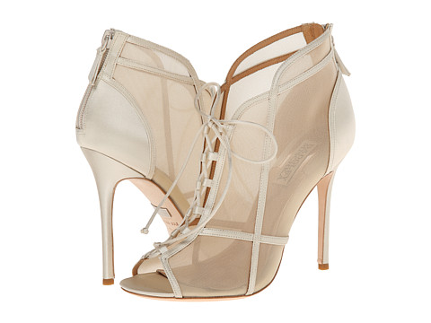 Badgley Mischka - Foley (Ivory Satin) High Heels