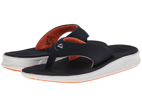 Reef - Rover (Navy/Orange) Men