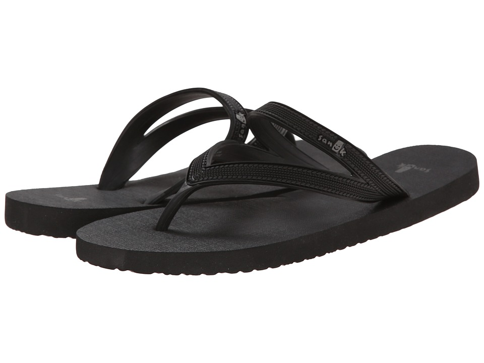 Sanuk Selene (Black) Women