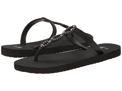 Sanuk - Ellipsis (Black) Women's Sandals