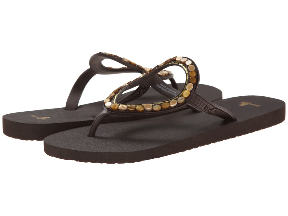 Sanuk - Ibiza Luna (Chocolate) Women's Sandals