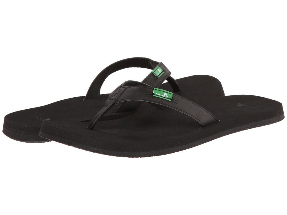 Sanuk - On The Rocks (Black) Women's Sandals
