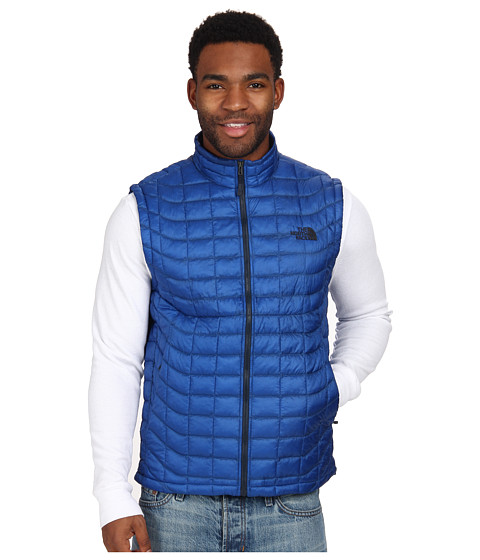 The North Face - ThermoBall Vest (Monster Blue) Men's Vest
