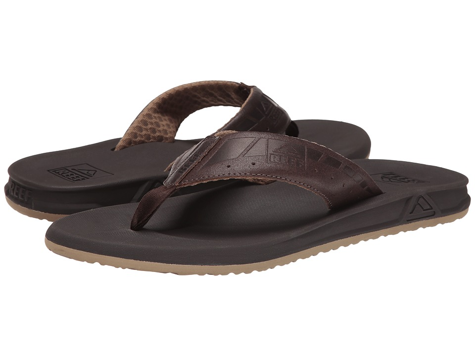Reef - Phantom LE (Brown/Dark Brown) Men's Sandals