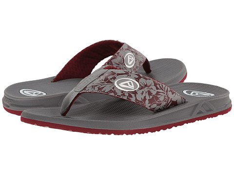 Reef - Phantom Prints (Red Hawaii) Men's Sandals