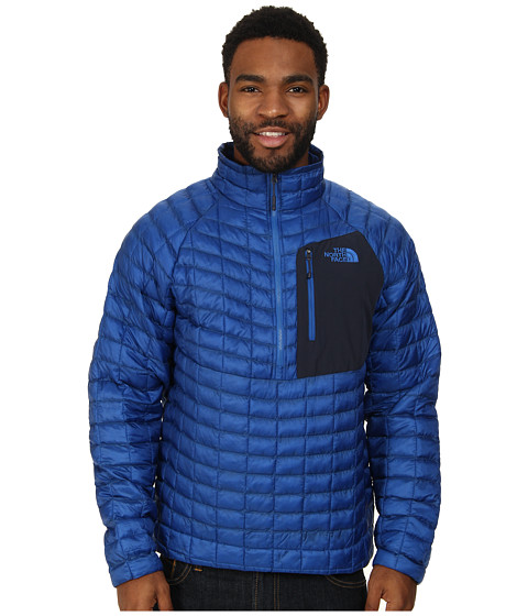 The North Face - ThermoBall Pullover (Monster Blue) Men's Coat
