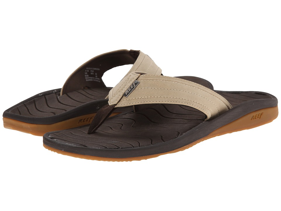 Reef - Swellular Lux (Dark Brown/Light Brown) Men's Sandals