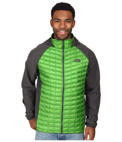 The North Face - ThermoBall Hybrid Hoodie (Scottish Moss Green/Asphalt Grey) Men