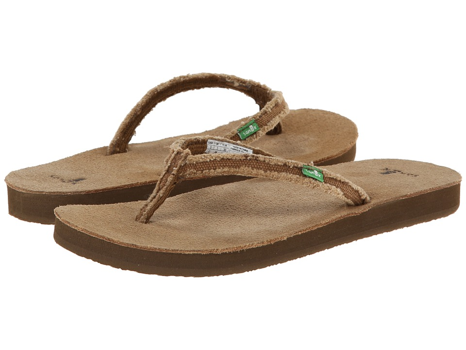 Sanuk Slim Fraidy (Tan) Women