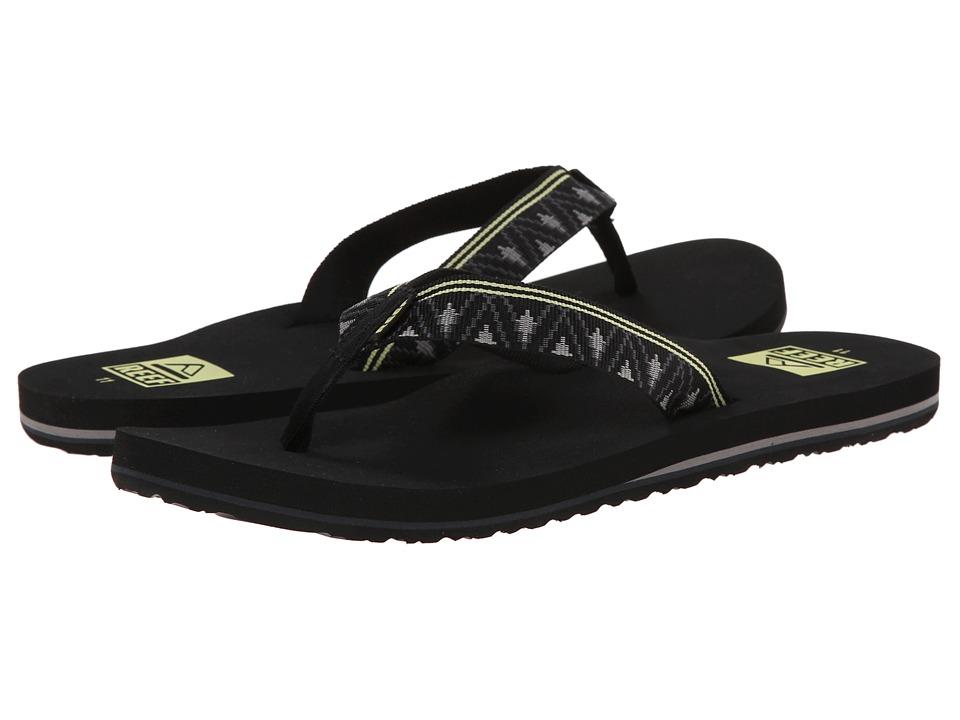 Reef - Ponto (Black) Men's Sandals