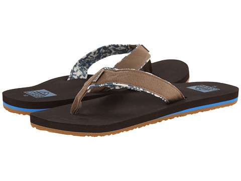 Reef - Ponto Prints (Brown) Men's Sandals