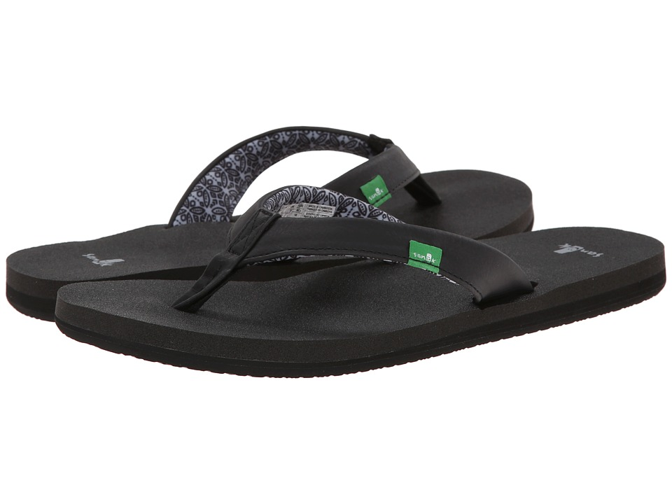 Sanuk - Yoga Zen (Black) Women's Sandals