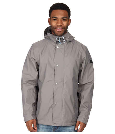 The North Face - Afton Rain Jacket (Pache Grey) Men's Coat
