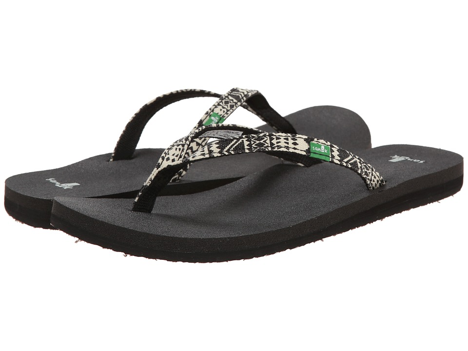 Sanuk Yoga Joy Funk (Black Tribal) Women