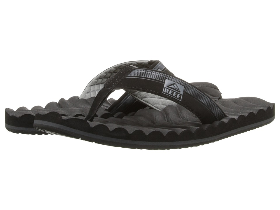 Reef - Swellular Cushion 3D (Black/Grey) Men's Sandals