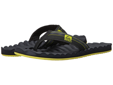 Reef - Swellular Cushion 3D (Navy/Green) Men's Sandals