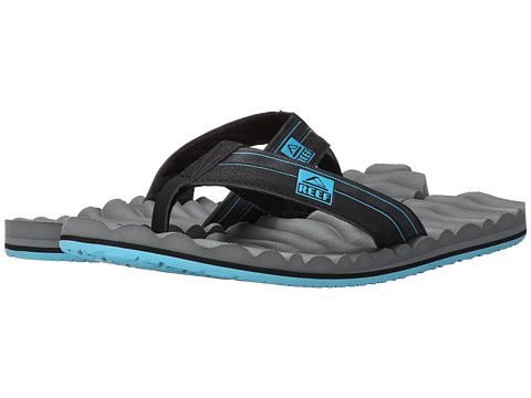 Reef - Swellular Cushion 3D (Grey/Light Blue) Men's Sandals