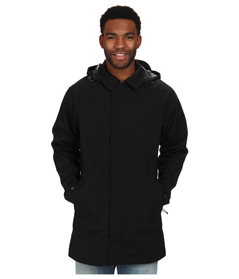 The North Face - MacArthur Soft Shell Trench (TNF Black) Men's Coat