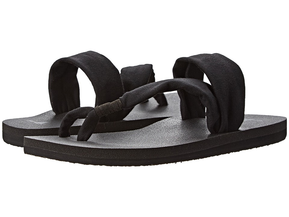 Sanuk - Yoga Sling It On (Black) Women's Sandals