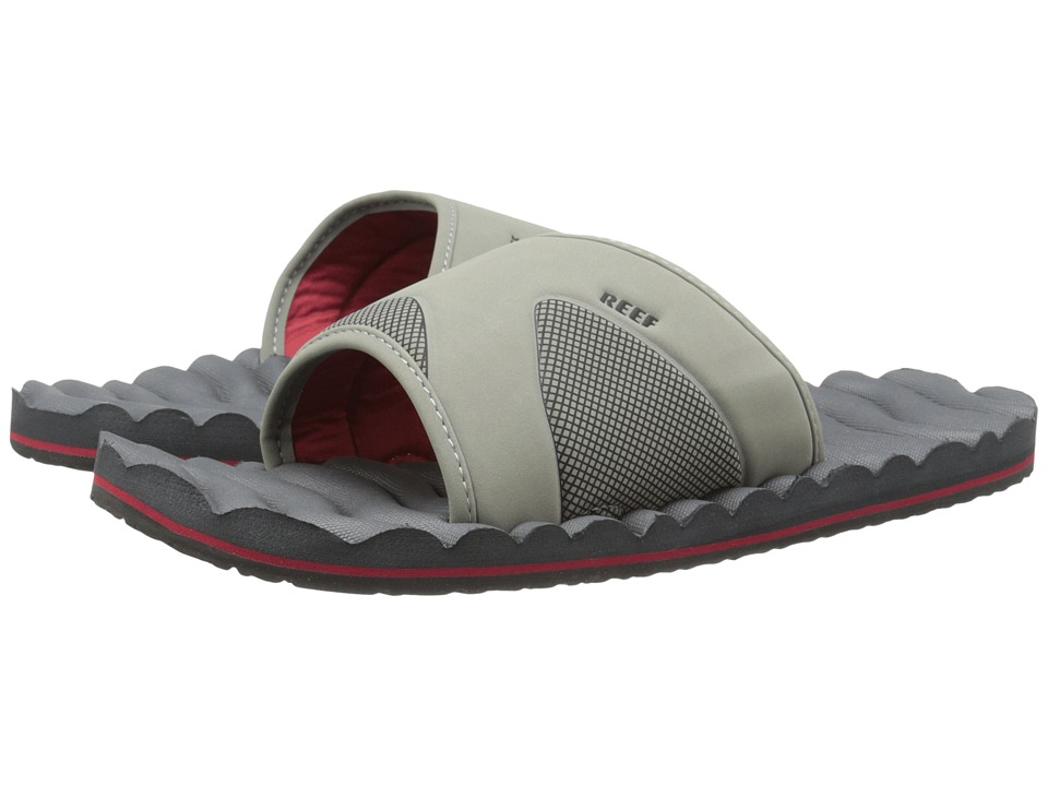 Reef - Swellular Slide (Grey/Red) Men