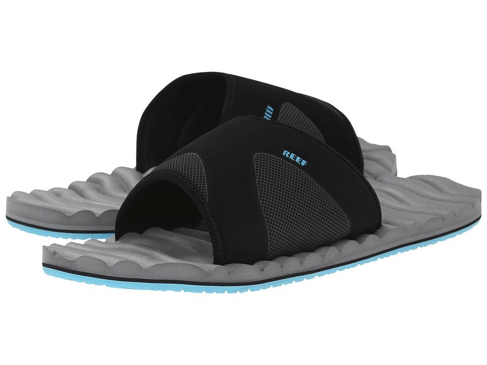 Reef - Swellular Slide (Grey/Light Blue) Men