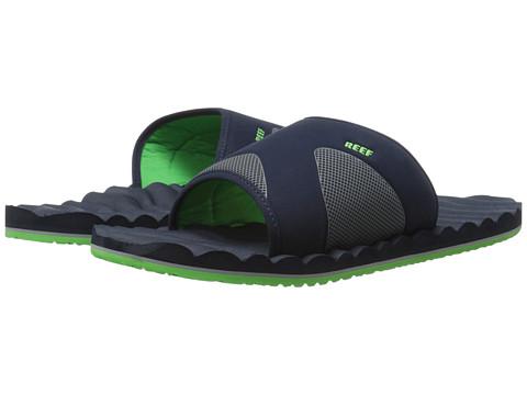 Reef - Swellular Slide (Navy/Green) Men