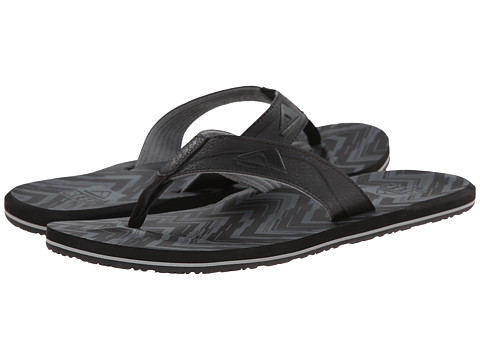 Reef - HT Prints (Charcoal Chevron) Men's Sandals