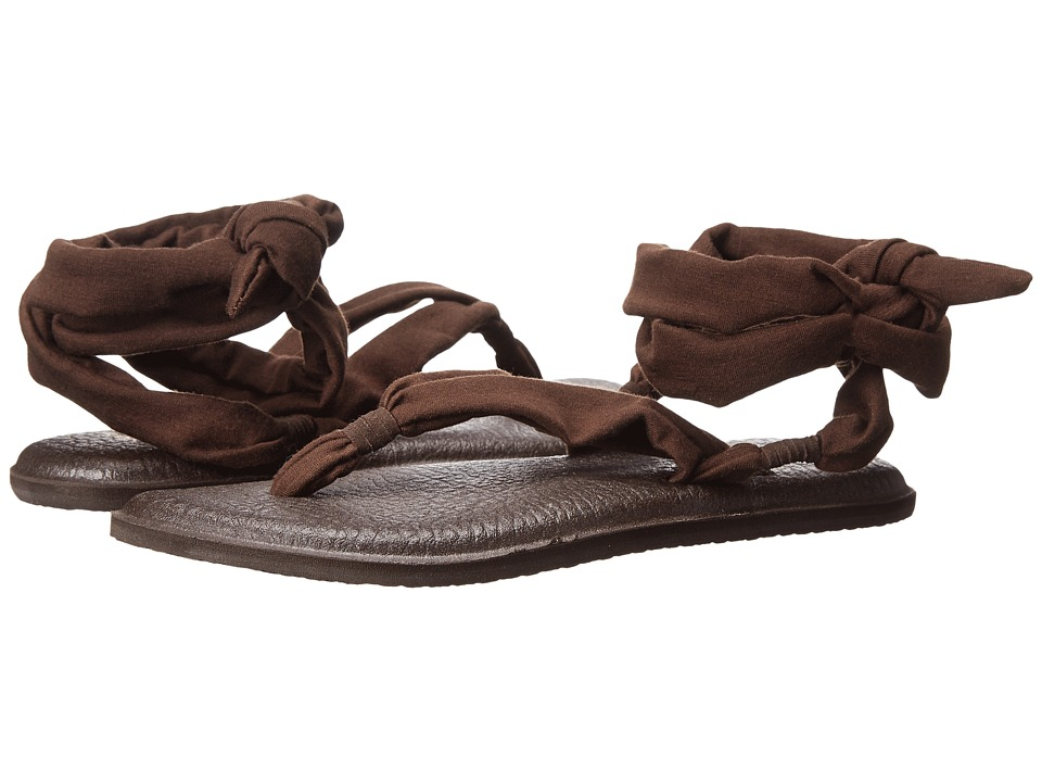 Sanuk - Yoga Slinged Up (Brown) Women's Sandals