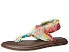 Sanuk Yoga Sling 2 Prints (Teal/Multi)