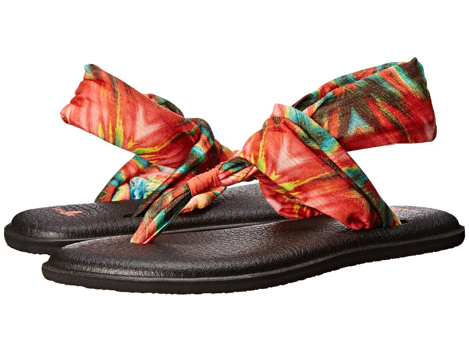 Sanuk Yoga Sling 2 Prints (Watermelon/Multi) Women
