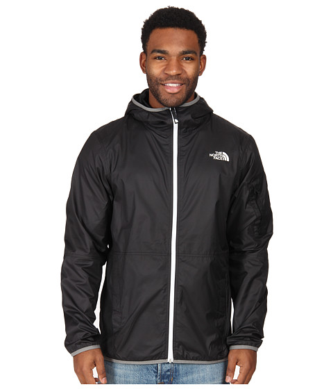 The North Face - Chicago Wind Jacket (TNF Black) Men's Coat