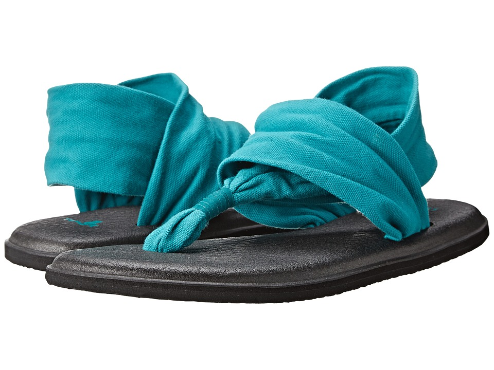 Sanuk - Yoga Sling 2 (Teal) Women's Sandals