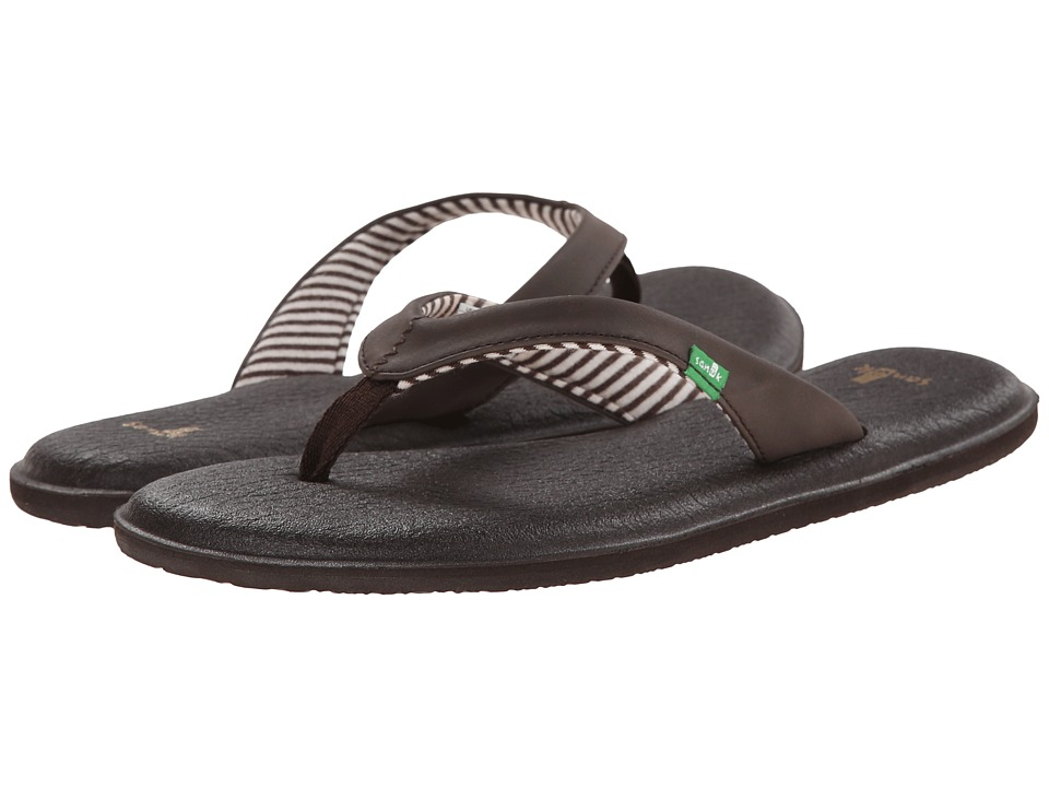 Sanuk - Yoga Chakra (Brown) Women's Sandals