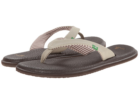 Sanuk - Yoga Chakra (Light Natural) Women's Sandals