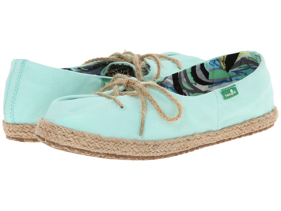 Sanuk - Mochi (Mint) Women's Slip on Shoes